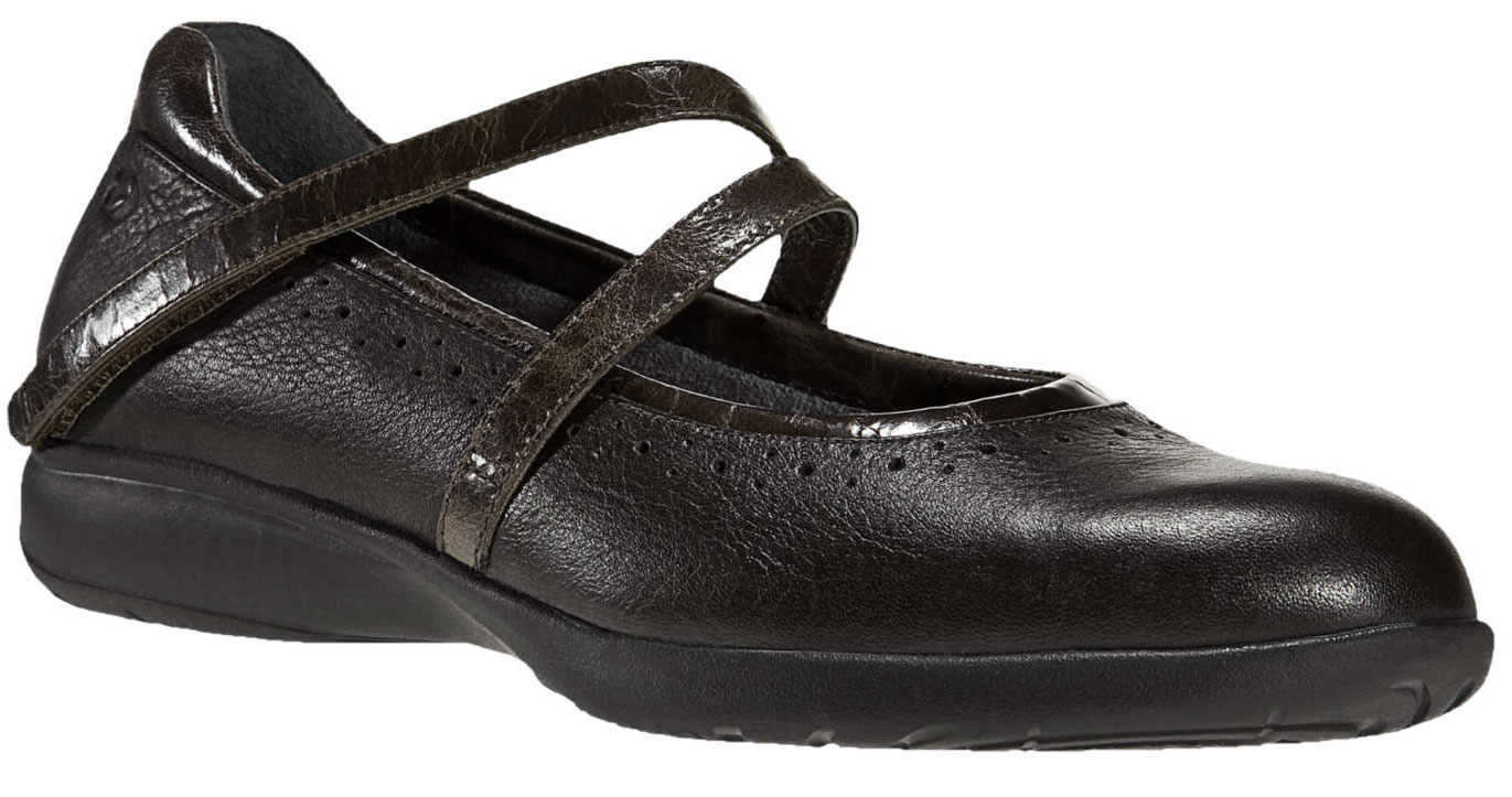 ARAVON Women's Aravon Jodi Flats by New Balance Medium B(M) Brown Leather WEJ02BR_B at Sears.com
