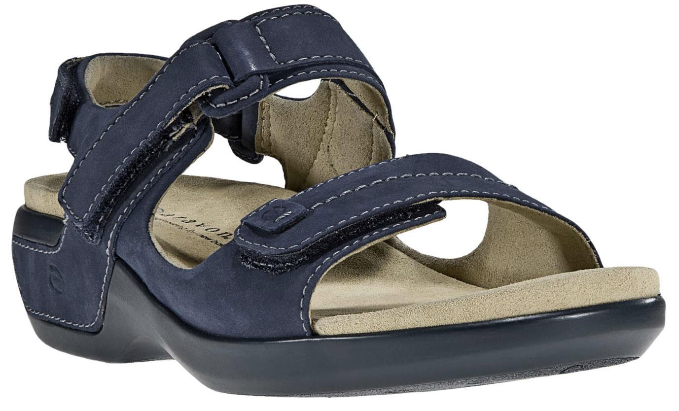 ARAVON Women's Aravon Katy Sandals New Balance Wide Navy Blue WSK03NV_D at Sears.com