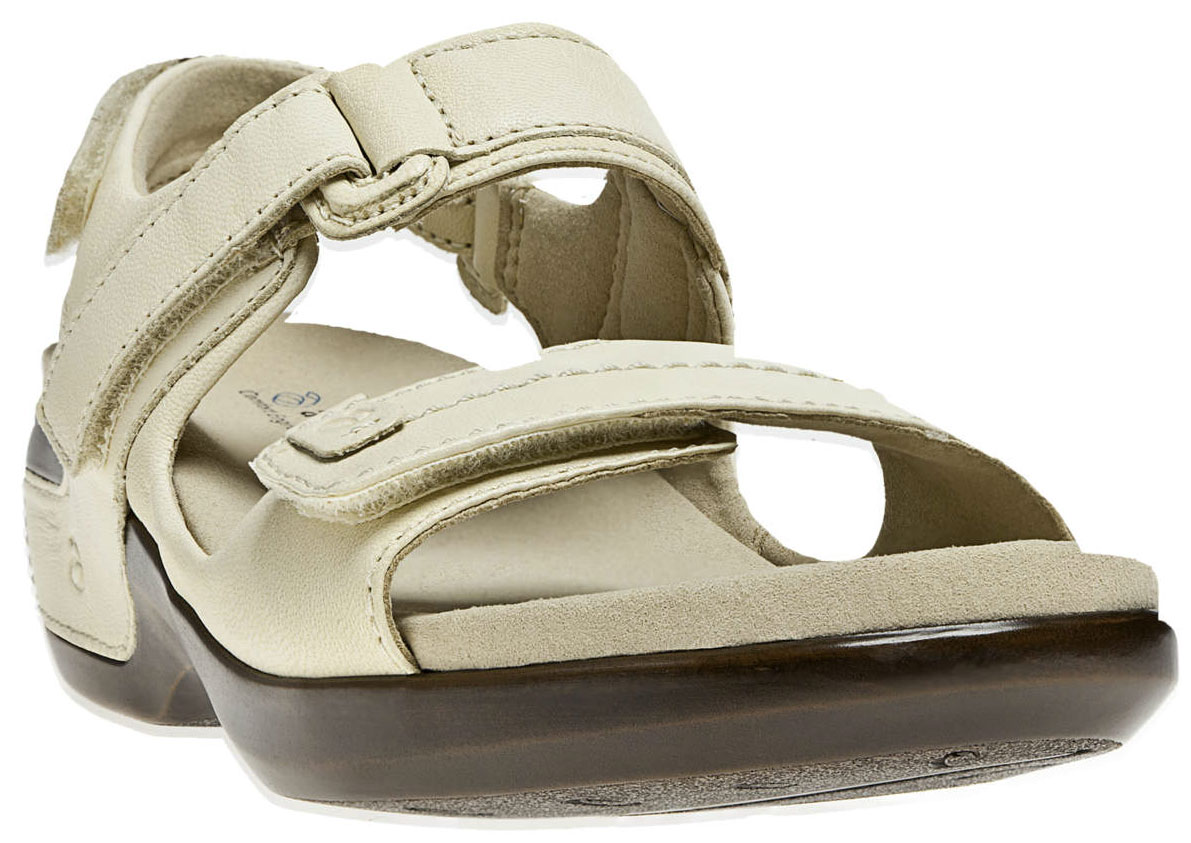 ARAVON Women's Aravon Katy Sandals by New Balance Extra-Wide (2E) Off White WSK03WW_2E at Sears.com