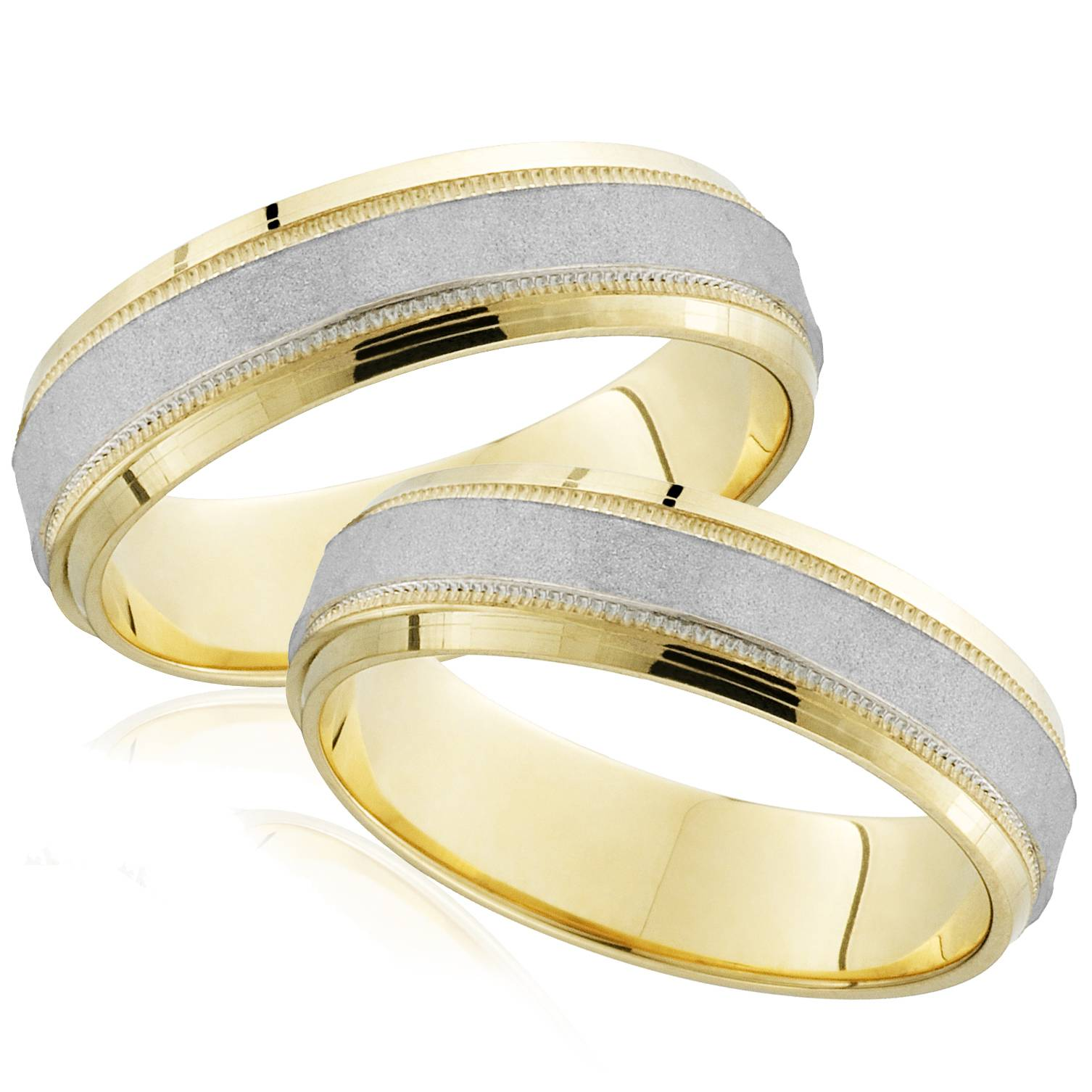 New With Tags Scott Kay Platinum Mens 6mm Wedding Band: Platinum & 18k Yellow Gold His Hers Matching Hammered
