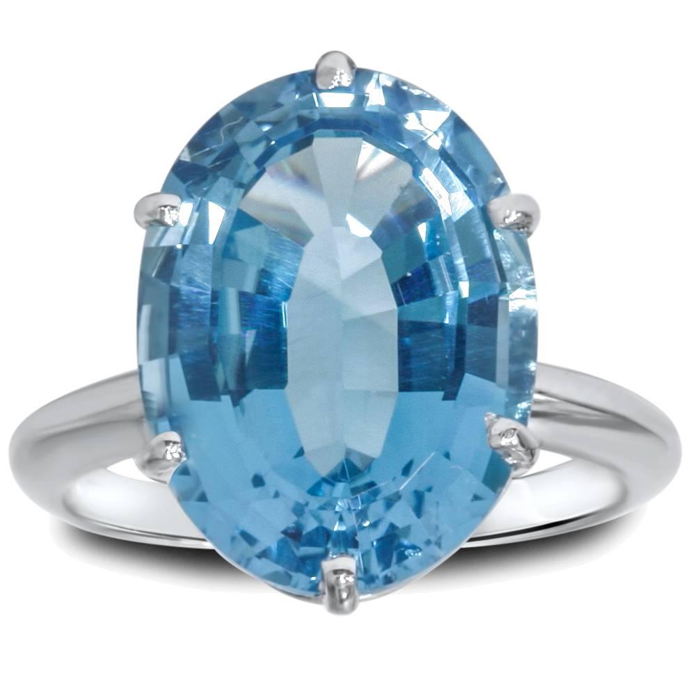 s blue topaz sterling silver ring ebay
