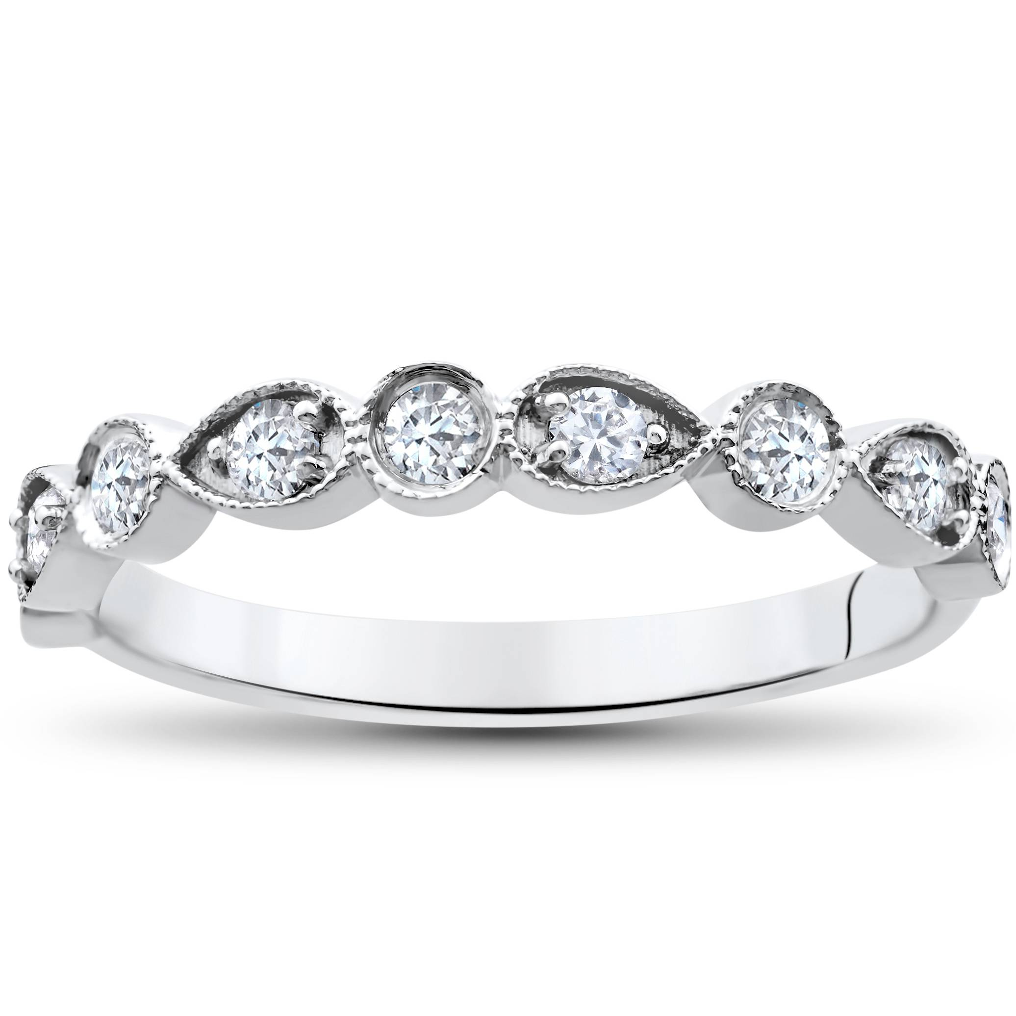 wedding ring 1 4 ct stackable womens band