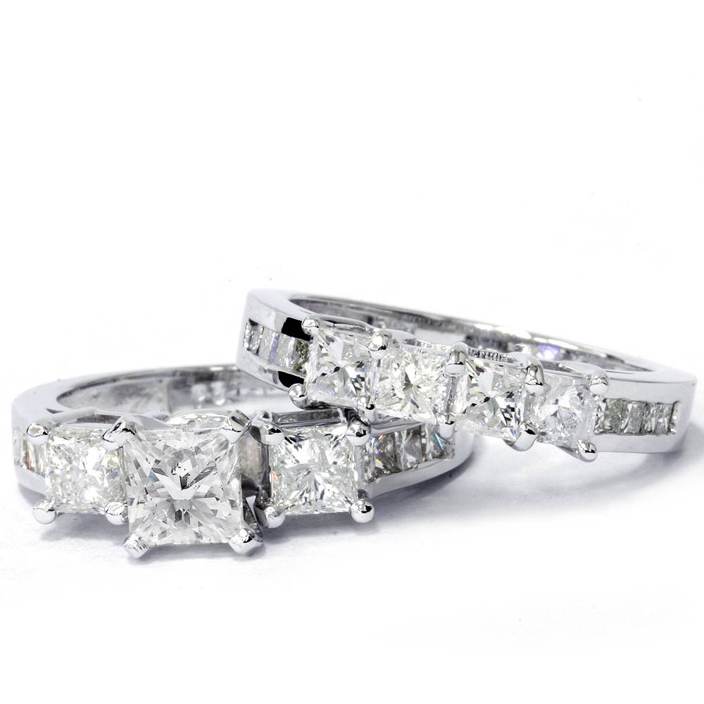 real princess cut huge diamond engagement ring. Black Bedroom Furniture Sets. Home Design Ideas