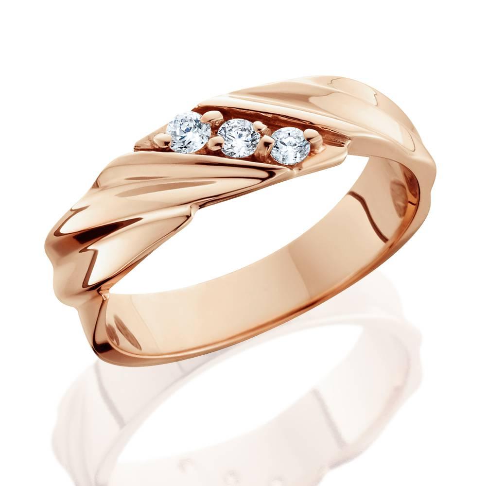 1 10ct diamond 14k rose gold mens wedding ring tanga. Black Bedroom Furniture Sets. Home Design Ideas
