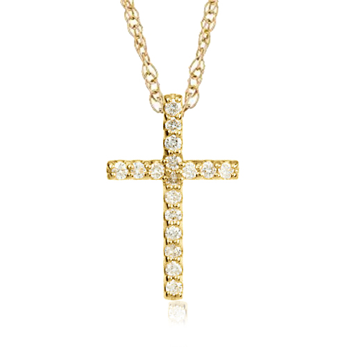 1 10ct diamond cross pendant 10k white gold ebay. Black Bedroom Furniture Sets. Home Design Ideas