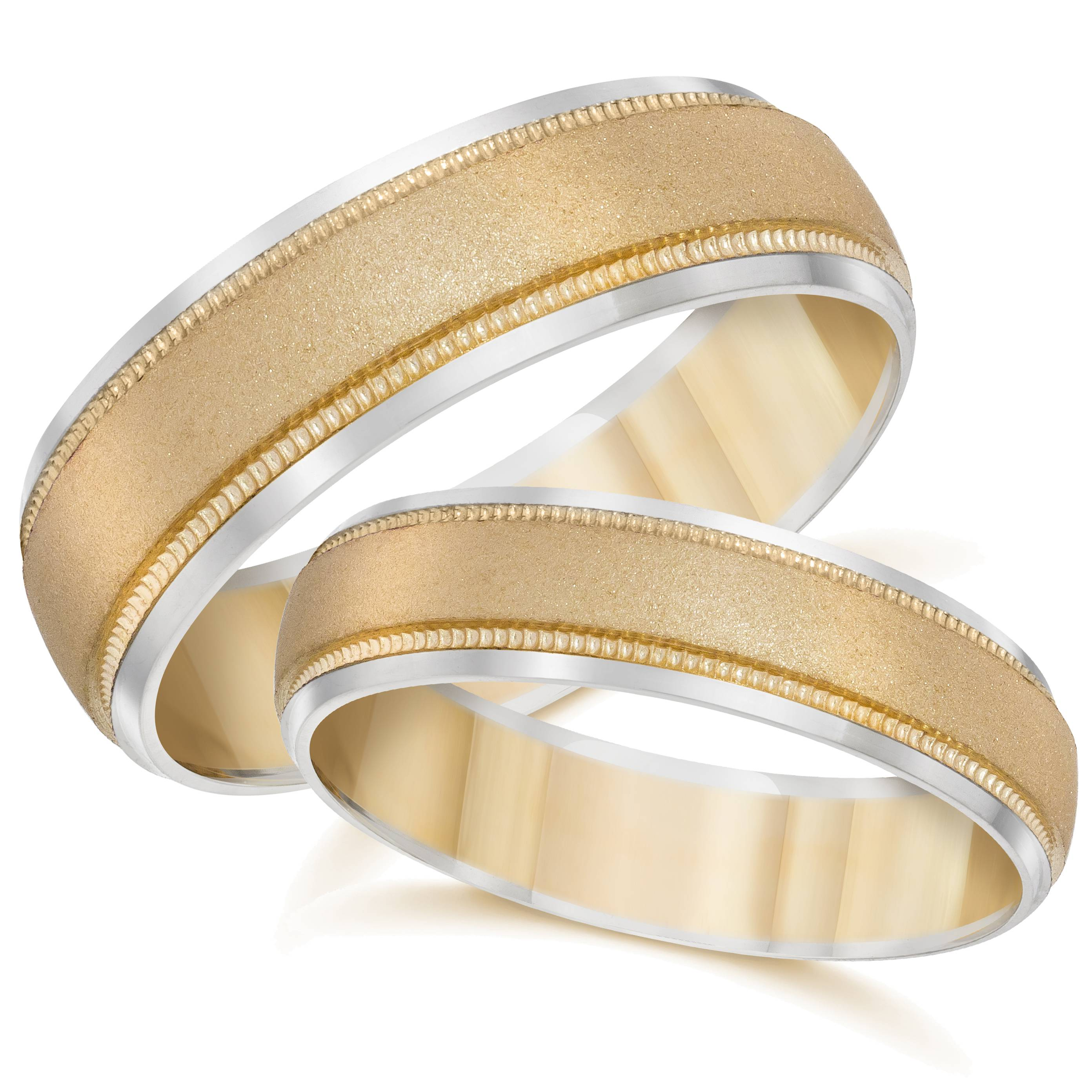 Gold Matching His Hers Two Tone Wedding Band Ring Set  Ebay. Bead Earrings. Nixon Time Teller Watches. Youtube Beads10k Gold Bracelet. Rectangular Watches. Kundalini Spirit Bracelet. Stone Rings. Micro Pave Wedding Band. Chunky Watches
