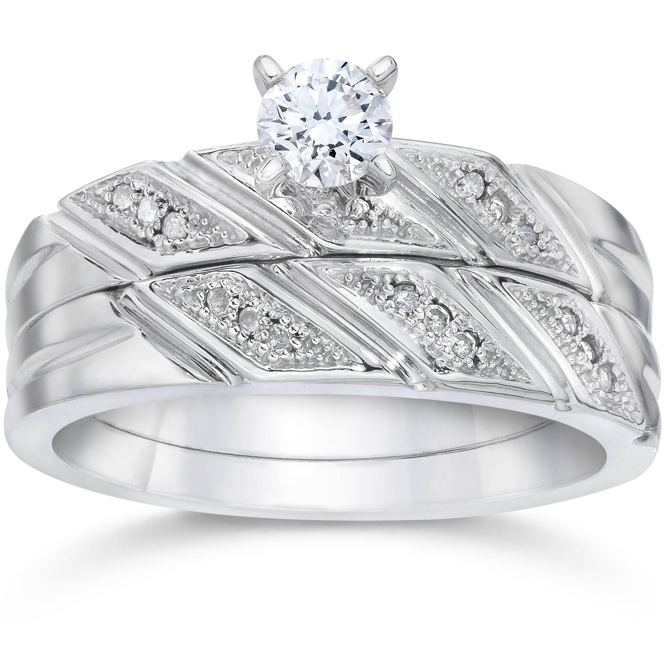 1 5ct engagement ring matching wedding band set