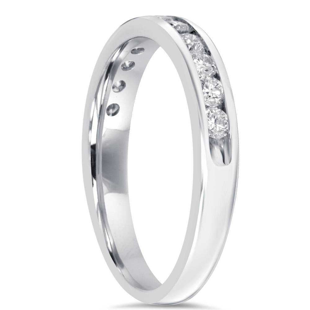 1 2ct wedding ring 10k white gold