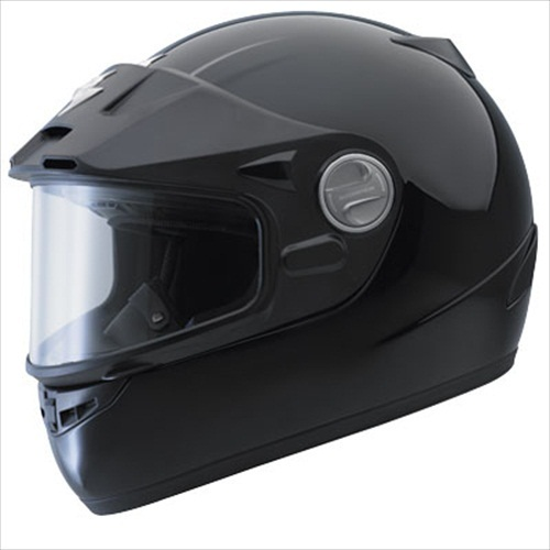 Scorpion EXO-400 Dual Pane Gloss Black Full-face Snow Motorcycle Helmet Medium at Sears.com