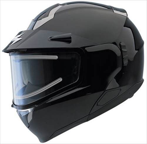 Scorpion EXO-900 Gloss Black Modular Snow Helmet Electric Shield Medium at Sears.com