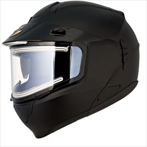 Scorpion EXO-900 Matte Black Modular Snow Helmet Electric Shield Medium at Sears.com