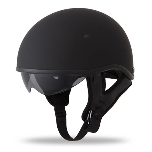 Fly Racing .357 Half Face Street Motorcycle Helmet Flat Black Size XX-Large at Sears.com
