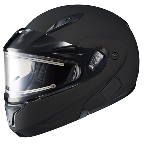 HJC Cl-Max II Snowmobile Snow Helmet Electric Shield Matte Black Medium at Sears.com