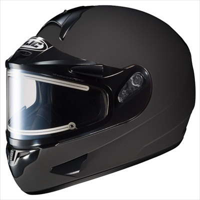 HJC CL-16 Electric Shield Snowmobile Snow Helmet Matte Black Medium at Sears.com