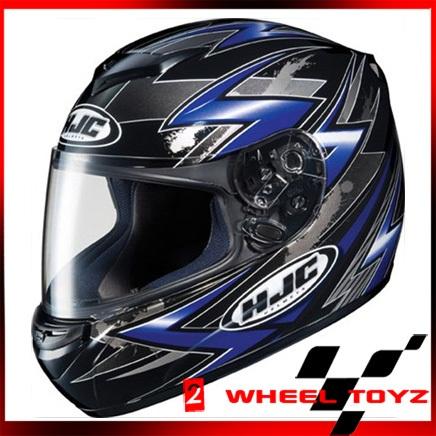 HJC CS R2 Thunder Blue Full Face Motorcycle Helmet Size x Large