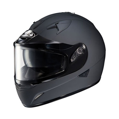 HJC IS-16 Matte Black Snowmobile Dual Lens Snow IS16 Helmet Size Medium M at Sears.com