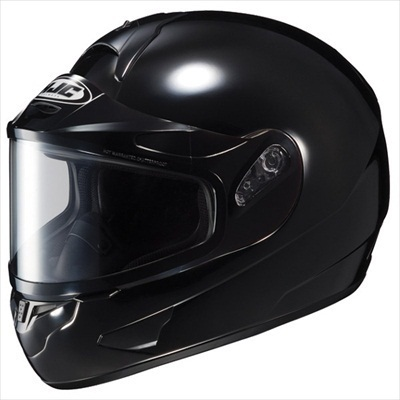 HJC CL-16 Dual Lens Snowmobile Snow Helmet Gloss Black Medium at Sears.com