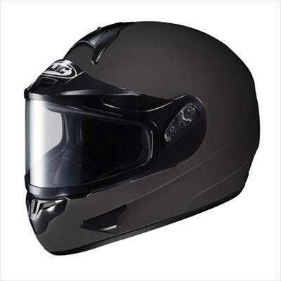 HJC CL-16 Dual Lens Snowmobile Snow Helmet Matte Black Medium at Sears.com