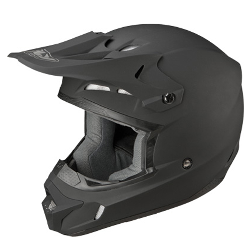 Fly Racing Kinetic Racing Motocross Helmet Matte Black Size Large at Sears.com