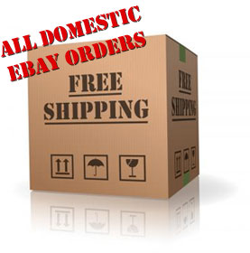 All Domestic eBay Orders--Free Shipping