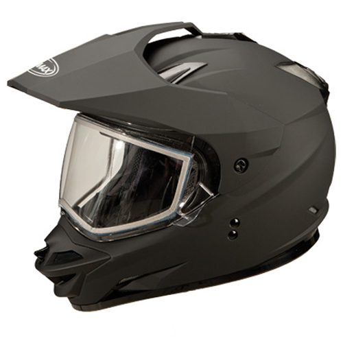 GMAX GM11S Sport Motorcycle Helmet Flat Black Size Medium at Sears.com