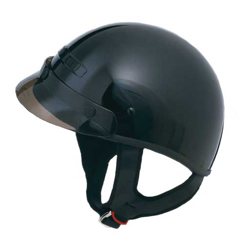 GMAX GM35 Dressed Half Face Motorcycle Helmet Black Size X-Large at Sears.com