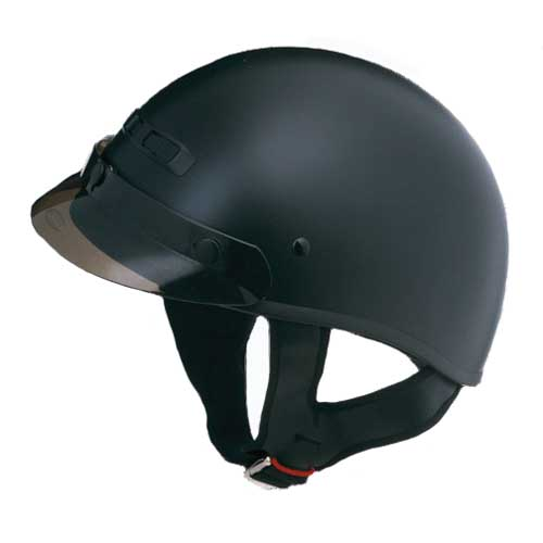 GMAX GM35 Dressed Half Face Motorcycle Helmet Flat Black Size Medium at Sears.com