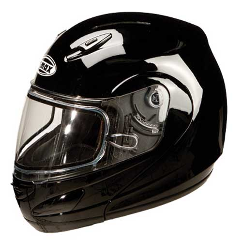 GMAX GM44S Modular Snowmobile Helmet Black Size Medium at Sears.com