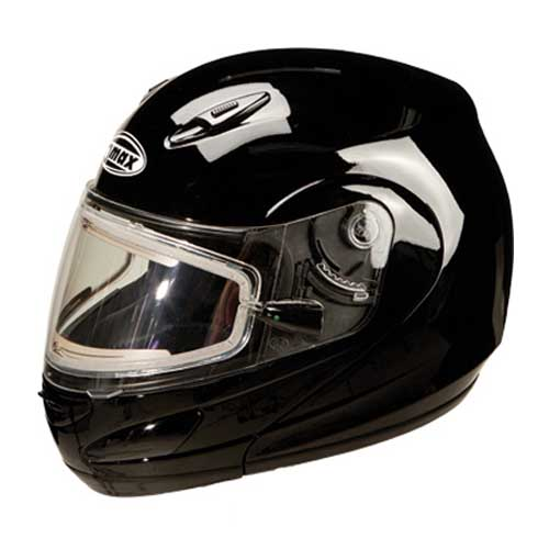 GMAX GM44S Modular Snowmobile Helmet W Electric Shield Black Size Medium at Sears.com