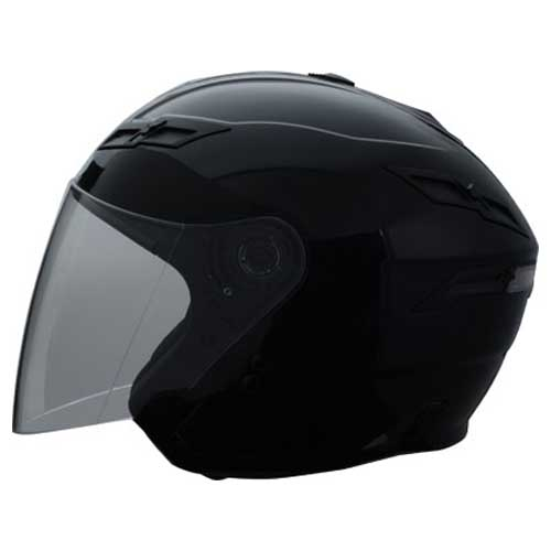 GMAX GM67 Open Face Motorcycle Helmet Black Size Medium at Sears.com