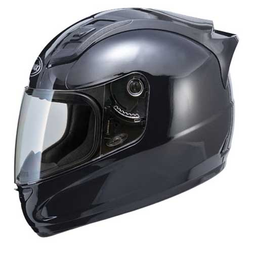 GMAX GM69 Full Face Motorcycle Gloss Helmet Black Size Medium at Sears.com