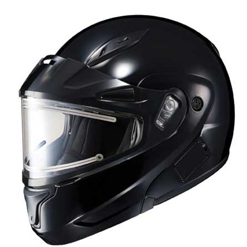 HJC Cl-Max II Snowmobile Snow Helmet Electric Shield Black Medium at Sears.com