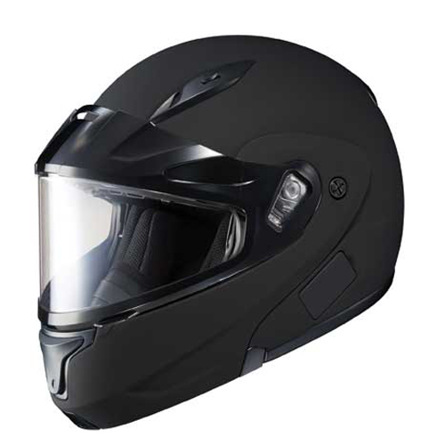 HJC Cl-Max II Snowmobile Dual Lens Shield Snow Helmet Matte Black Medium at Sears.com