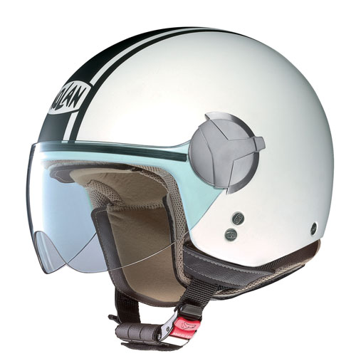 Nolan USA Nolan N20 Caribe Flat White Open-face Motorcycle Helmet Size Xlarge at Sears.com