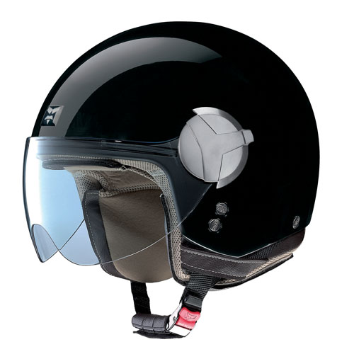 Nolan USA Nolan N20 Outlaw Gloss Black Open-face Motorcycle Helmet Size Xlarge at Sears.com