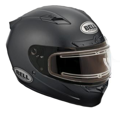 Bell Helmets Bell Vortex Snow Helmet Electric Shield Matte Black Size Medium at Sears.com