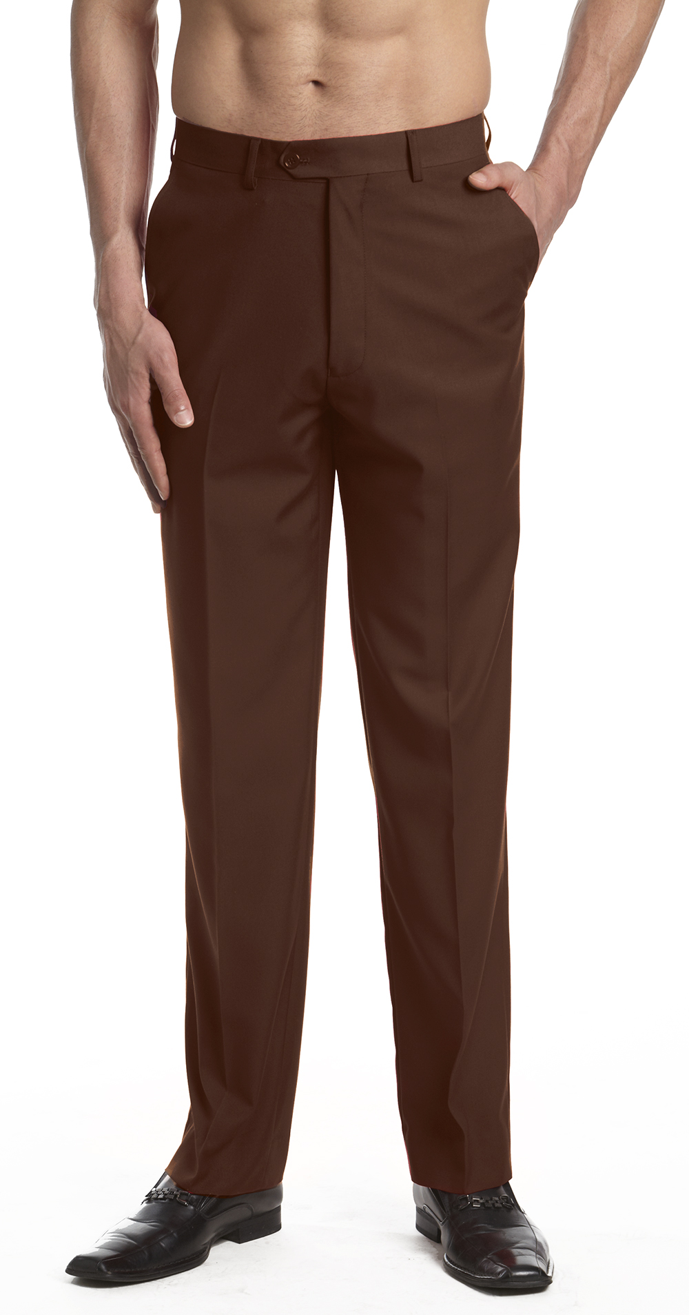 Our collection of dress pants is made up of three classic styles designed to flatter you in all the right places. Available in a host of have-to-have colors and prints, getting dressed in .