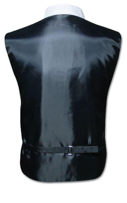 Mens BURGUNDY Tie Dress Vest NeckTie Set for Suit or Tuxedo Extra ...