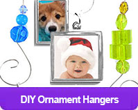 Beaded Ornament Hangers