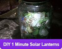 DIY Solar Mason Jars