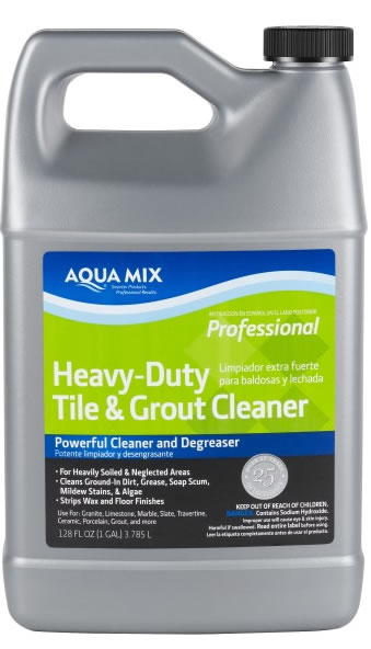 Aqua Mix Heavy Duty Tile and Grout Cleaner - Gallon at Sears.com