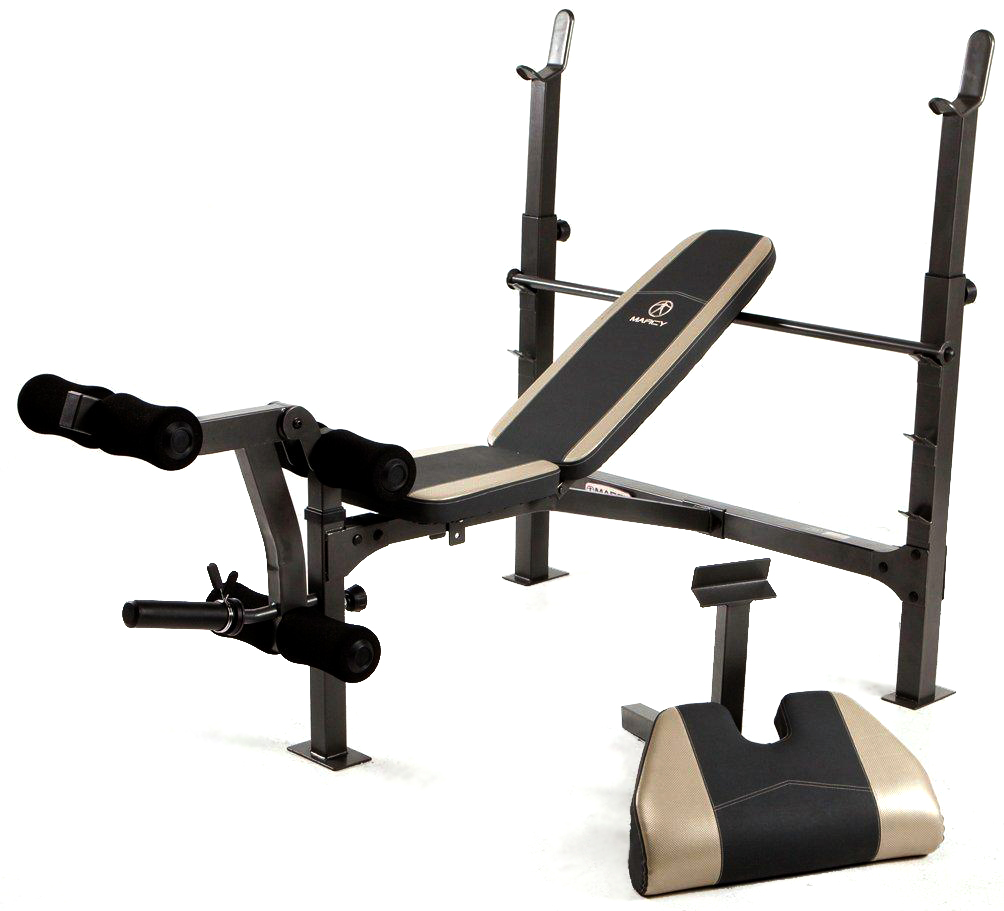 Marcy Fitness Mwb 715n Incline Decline Weight Lifting Olympic Bench Arm Curl Ebay