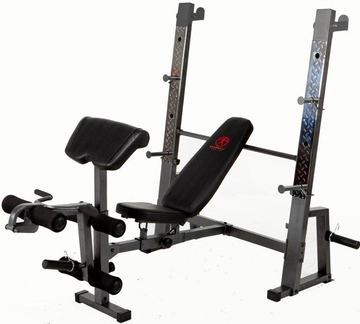 new marcy diamond elite md 823 weight lifting bench ebay