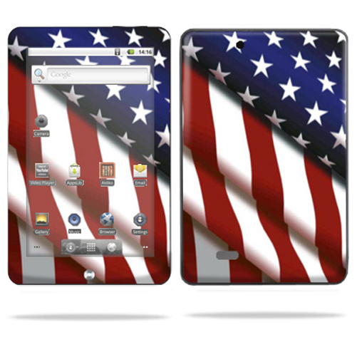 MightySkins Protective Vinyl Skin Decal Cover for Coby Kyros MID7015 Tablet sticker skins American Pride at Sears.com