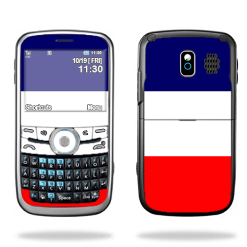 MightySkins Protective Skin Decal Cover for Pantech Link P7040 Cell Phone Sticker Skins France Flag at Sears.com