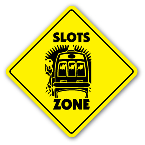 slot machine signs