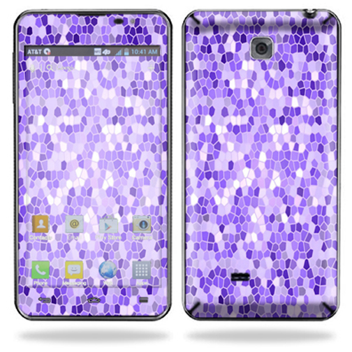 MightySkins Protective Skin Decal Cover for LG Escape Cell Phone AT&T Sticker Skin Stained Glass at Sears.com
