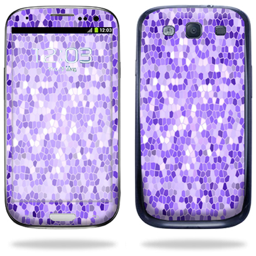 MightySkins Protective Vinyl Skin Decal Cover for Samsung Galaxy S III S3 Cell Phone Sticker Skins Stained Glass at Sears.com