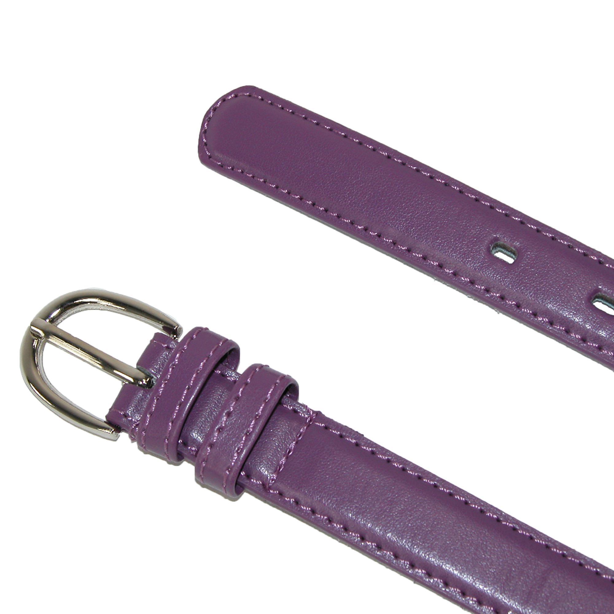New CTM Kid/'s Leather 1 inch Basic Dress Belt