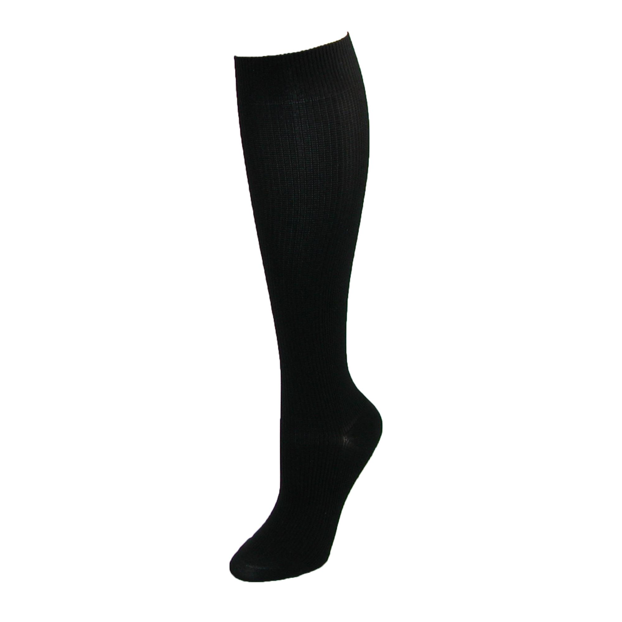 Think Medical Womens Plus Size Compression Socks Knee Highs